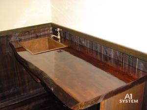 飲食店  手洗いカウンター